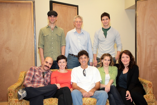Eddie Cahill, Bill Buell, Jake Silbermann, David Adjmi, Hannah Cabell, Deney Terrio,  Photo