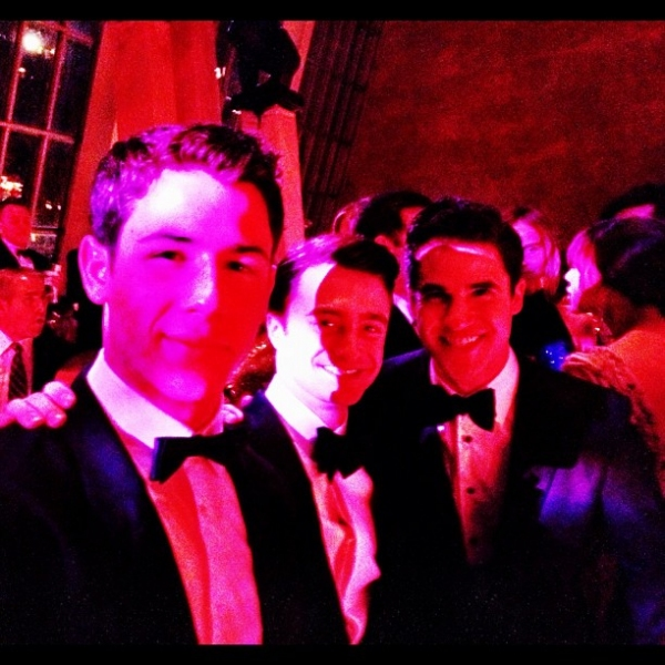 Photo Flash: Finches Nick Jonas, Darren Criss & Daniel Radcliffe Unite at Met Gala!