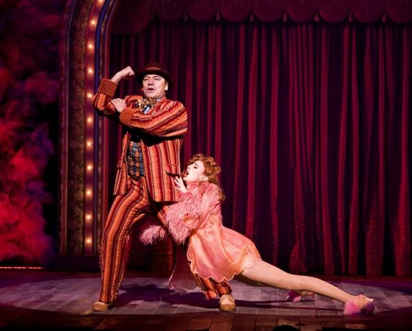 Danny Burstein and Becky Elizabeth Stout - Photo by Craig Schwartz