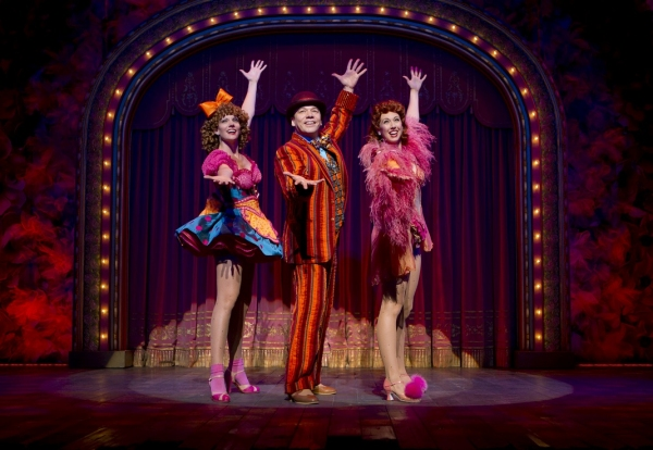 Jennifer Foote, Danny Burstein and Kiira Schmidt - Photo by Joan Marcus