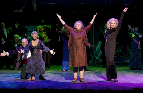Don Correia, Susan Watson, Jayne Houdyshell and Mary Beth Peil - Photo by Joan Marcus
