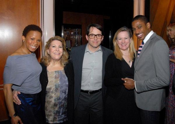 Photo Flash: Matthew Broderick, Elena Roger et al. Mingle at Astaire Award Nominations Gala!