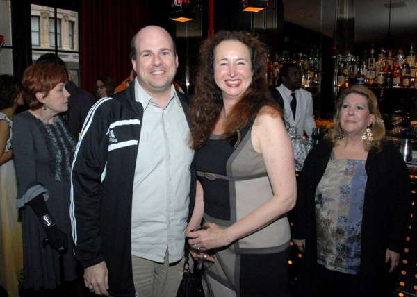 Photo Flash: Matthew Broderick, Elena Roger et al. Mingle at Astaire Award Nominations Gala!