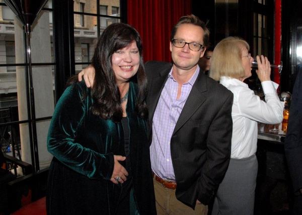 Patricia Watt and Michael Riedel Photo