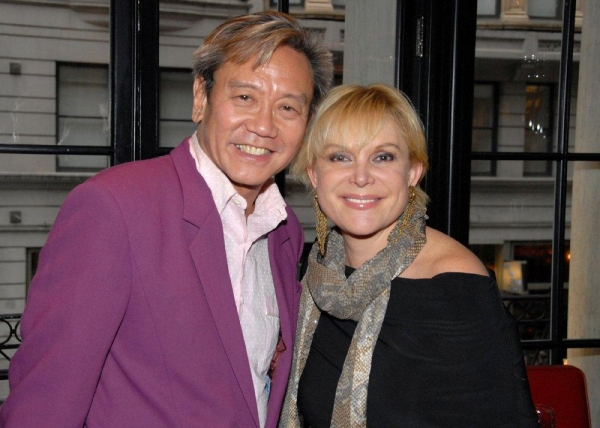 David Noh and Wendy Federman Photo