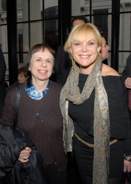 Anna Kisselgoff and Wendy Federman Photo