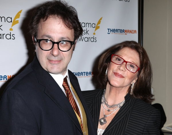 Nicky Silver & Linda Lavin  at The 57th Annual Drama Desk Nominee Reception - All the Nominees!