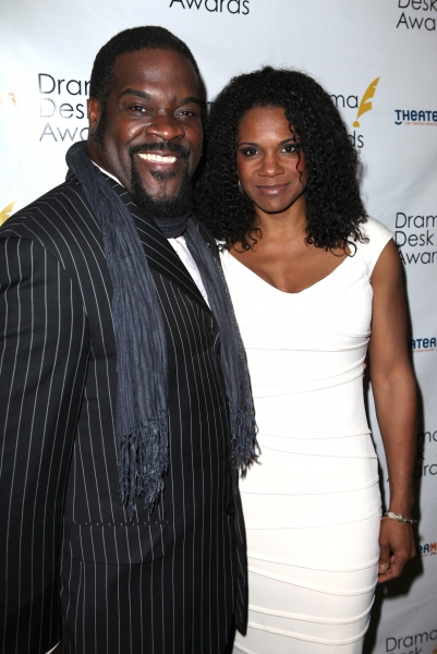 Philip Boykin & Audra McDonald at The 57th Annual Drama Desk Nominee Reception - All the Nominees!