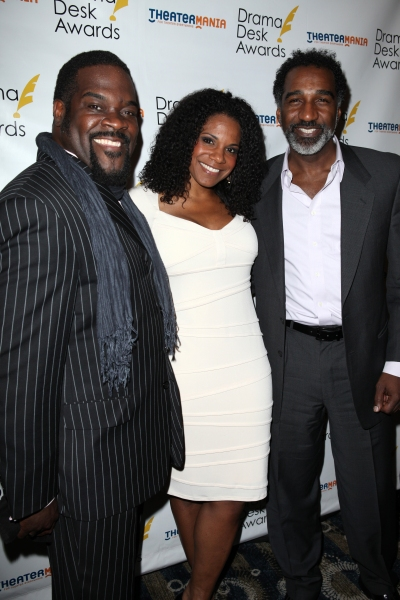 Philip Boykin, Audra McDonald & Norm Lewis at The 57th Annual Drama Desk Nominee Reception - All the Nominees!