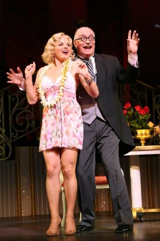 Photo Flash: Encores! GENTLEMEN PREFER BLONDES- Production Shots!