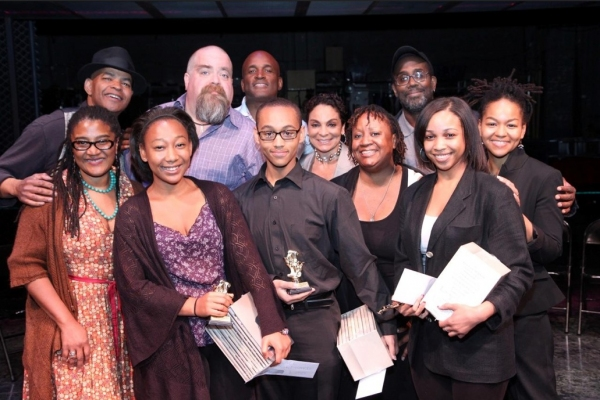 Photo Flash: Lynn Nottage, David Gallo et al. with August Wilson Monologue Competition Winners