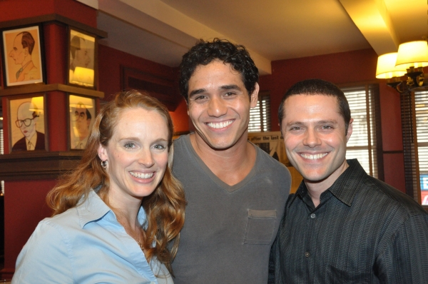 Kelly Jacobs, Adam Jacobs (The Lion King) and Josh Bergasse