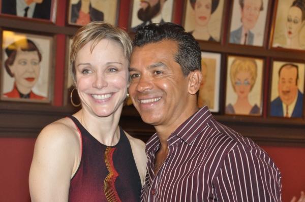 Charlotte d'Amboise and Sergio Trujillo