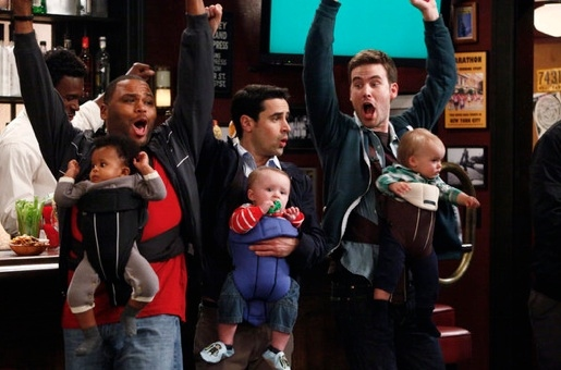 Anthony Anderson, Jesse Bradford & Zach Cregger at NBC Picks Up Jimmy Fallon Comedy GUYS WITH KIDS