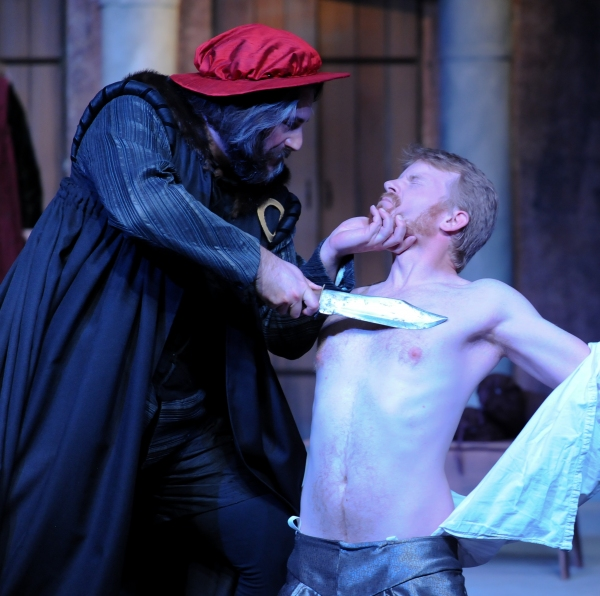Photo Flash: Sneak Peek at Brian Isaac Phillips in Cincinnati Shakespeare Company's THE MERCHANT OF VENICE