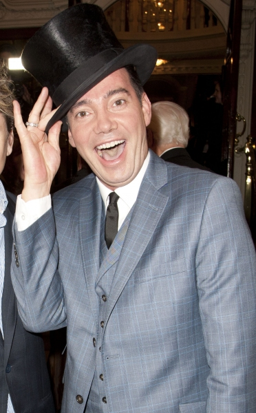 Ben Goddard and Craig Revel Horwood arrive on Press Night for Top Hat at the Aldwych Theatre, London, England on 9th May 2012. (Credit should read: Dan Wooller/wooller.com). Paid use only. No Syndication