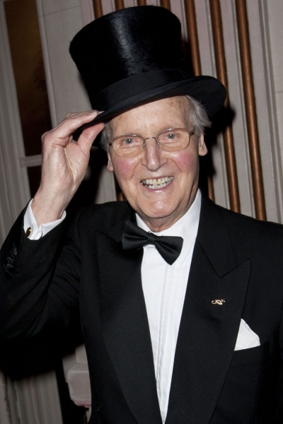 Nicholas Parsons attends the after party on Press Night for Top Hat at The Waldorf Hilton, London, England on 9th May 2012. (Credit should read: Dan Wooller/wooller.com). Paid use only. No Syndication