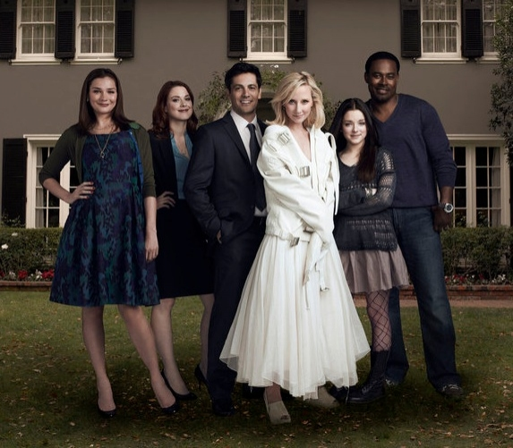 Heather Burns, Alexandra Breckenridge, Michael Landes, Anne Heche, Madison Davenport & Lamman Rucker