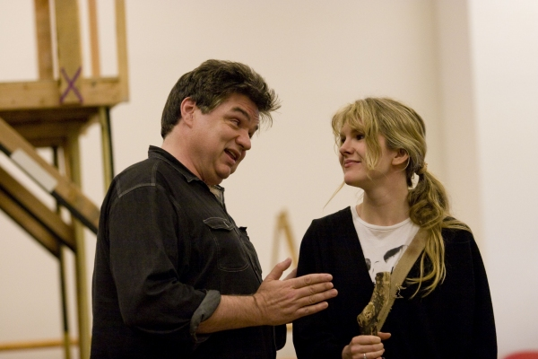 Oliver Platt and Lily Rabe 