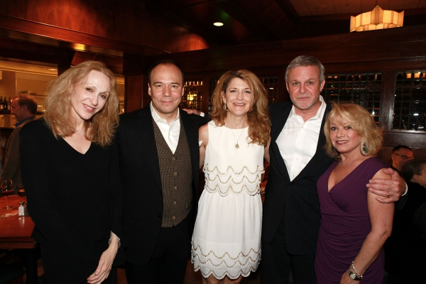 Jan Maxwell, Danny Burstein, Victoria Clark, Ron Raines and Elaine Paige