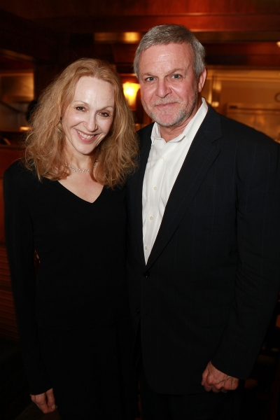 Jan Maxwell and Ron Raines