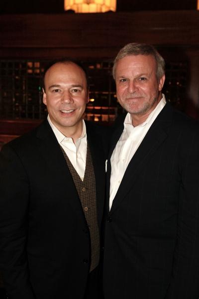 Danny Burstein and Ron Raines