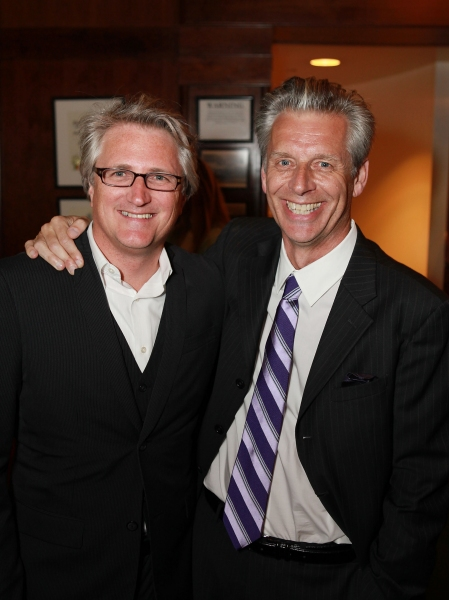 Eric Schaeffer and CTG Artistic Director Michael Ritchie 