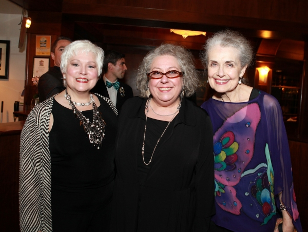 Florence Lacey, Jayne Houdyshell and Mary Beth Peil