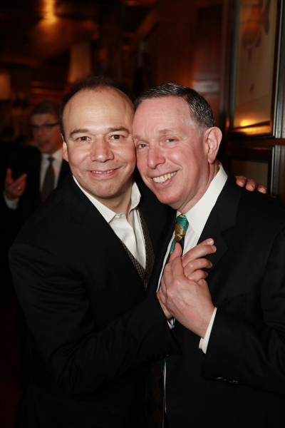 Danny Burstein and Kennedy Center President Michael M. Kaiser   Photo