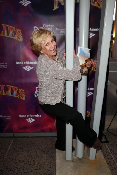 Cloris Leachman  at Inside Opening Night of FOLLIES in LA!
