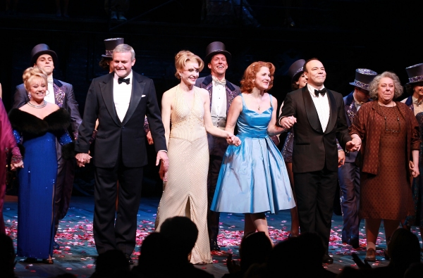 Elaine Paige, Ron Raines, Jan Maxwell, Victoria Clark, Danny Burstein and Jayne Houdyshell 