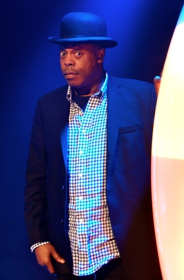 Photo Flash: Michael Winslow in VOCA PEOPLE Last Night, 5/9