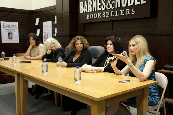 The Ladies - Michele Lee, Connie Stevens, Lainie Kazan, Barbara Van Orden and Patty Farmer at Lainie Kazan, Michele Lee et al. at THE PERSIAN ROOM PRESENTS Book Signing