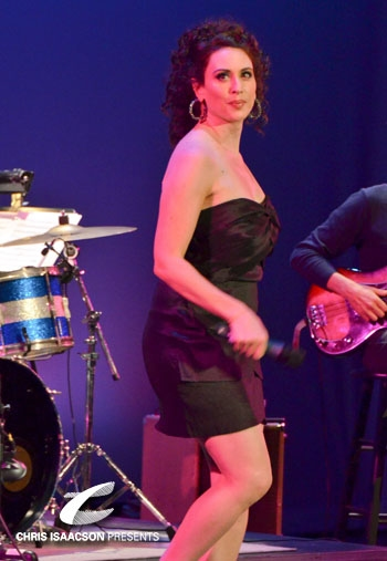 Lesli Margherita at Upright Cabaret's 'RHYTHM OF THE NIGHT' shines with Margherita, Hernandez, et al.