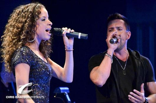 Lexi Lawson and David Hernandez