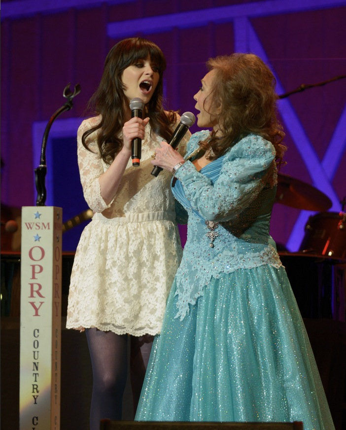 Zooey Deschanel to Lead Broadway-Bound COAL MINER'S DAUGHTER as Loretta Lynn