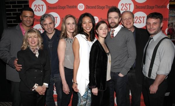 Christopher Jackson, Artistic Director Carole Rothman, Playwright Paul Weitz, Lisa Em Photo