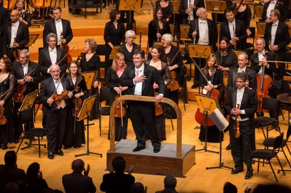 Photo Flash: Alan Gilbert Conducts NY Phil in Walt Disney Concert Hall Debut