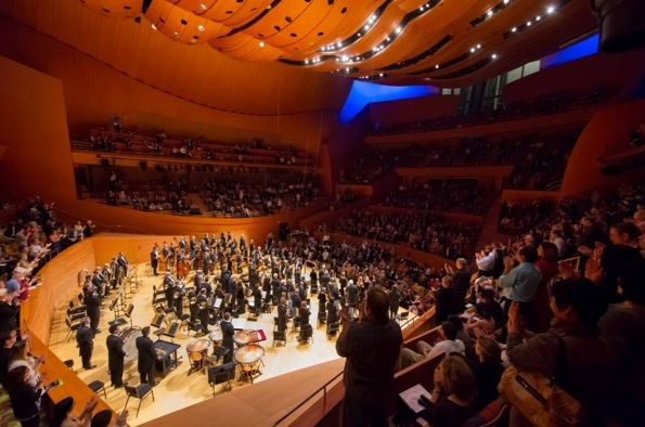 New York Philharmonic at Alan Gilbert Conducts NY Phil in Walt Disney Concert Hall Debut