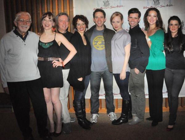 Tom Jones, Jillian Louis, Tom Aulino, Janet Dacal, Santino Fontana, Erin Davie, Robb  Photo