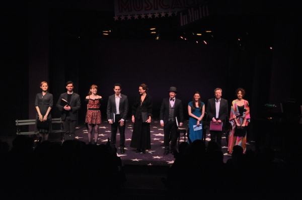 Erin Davie, Robb Sapp, Jillian Louis, Santino Fontana, Glory Crampton, Steve Routman, Ramona Mallory, Tom Aulino and Janet Dacal