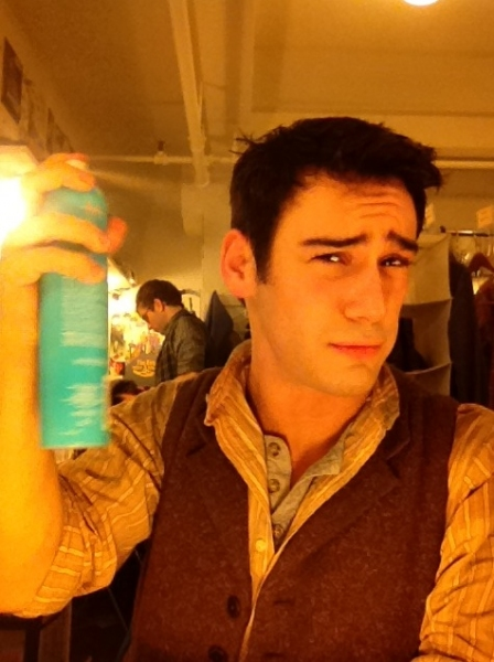 Photo Flash: Stars of NEWSIES, ONCE, GODSPELL and More Tweet Saturday Intermission Pics - Updated!