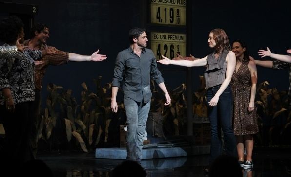 Photo Flashback: LEAP OF FAITH Takes Final Broadway Bows Today
