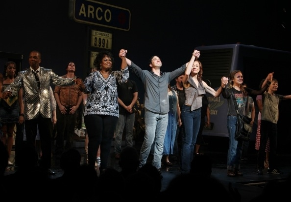 Leslie Odom Jr. Kecia Lewis-Evans, Raul Esparza, Jessica Phillips, Kendra Kassebaum & Talon Ackerman