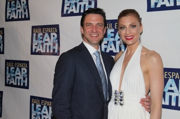 Raul Esparza and Jessica Phillips