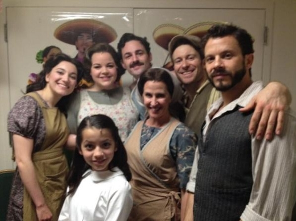 Photo Flash: Stars of EVITA, INTO THE WOODS, STARCATCHER et al. Tweet Saturday Intermission - New Pics!
