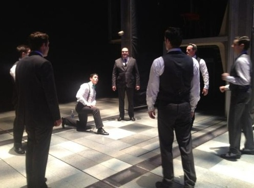 Photo Flash: Broadway Stars Max Von Essen, Steve Kazee et al. Tweet Saturday Intermission - All the Photos!