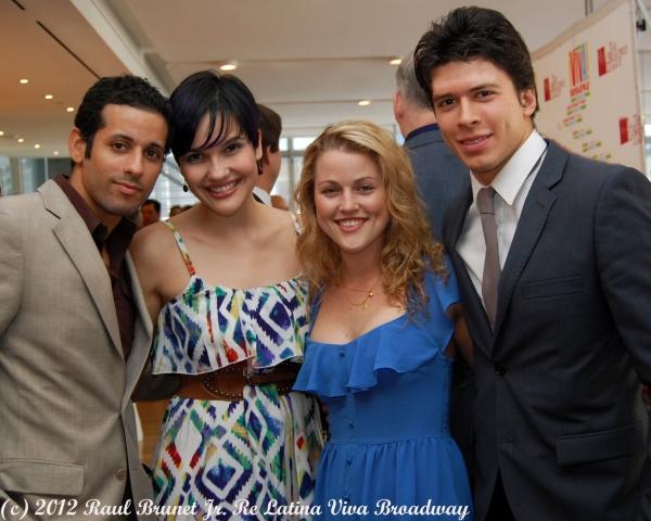 Luis Salgado, Dennisse Ambert, Rebecca Faulkenberry and Craig Henningsen  Photo