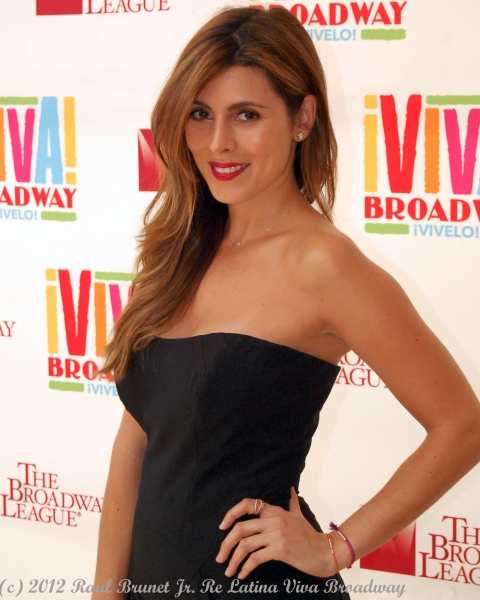 Jamie-Lynn Sigler at The Broadway League launches VIVA BROADWAY!