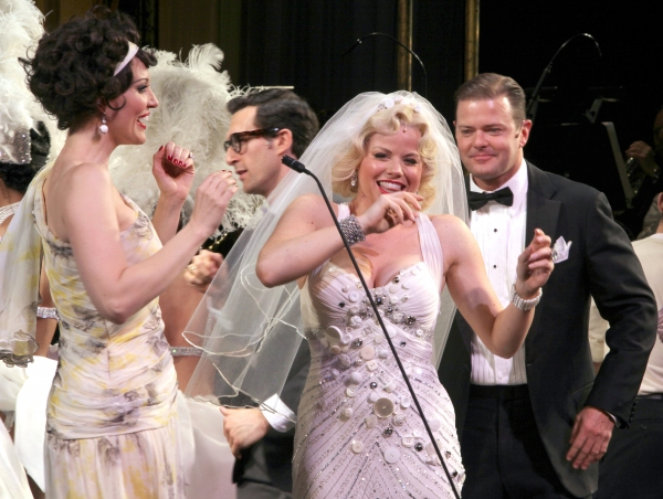 Photo Coverage: Megan Hilty & Rachel York in The GENTLEMEN PREFER BLONDES Curtain Call